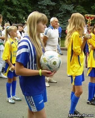 В спорте блондинки не уступают ни брюнеткам, ни шатенкам, ни рыжим!